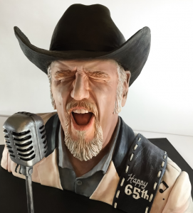 Ray Benson of Asleep At the Wheel Cake