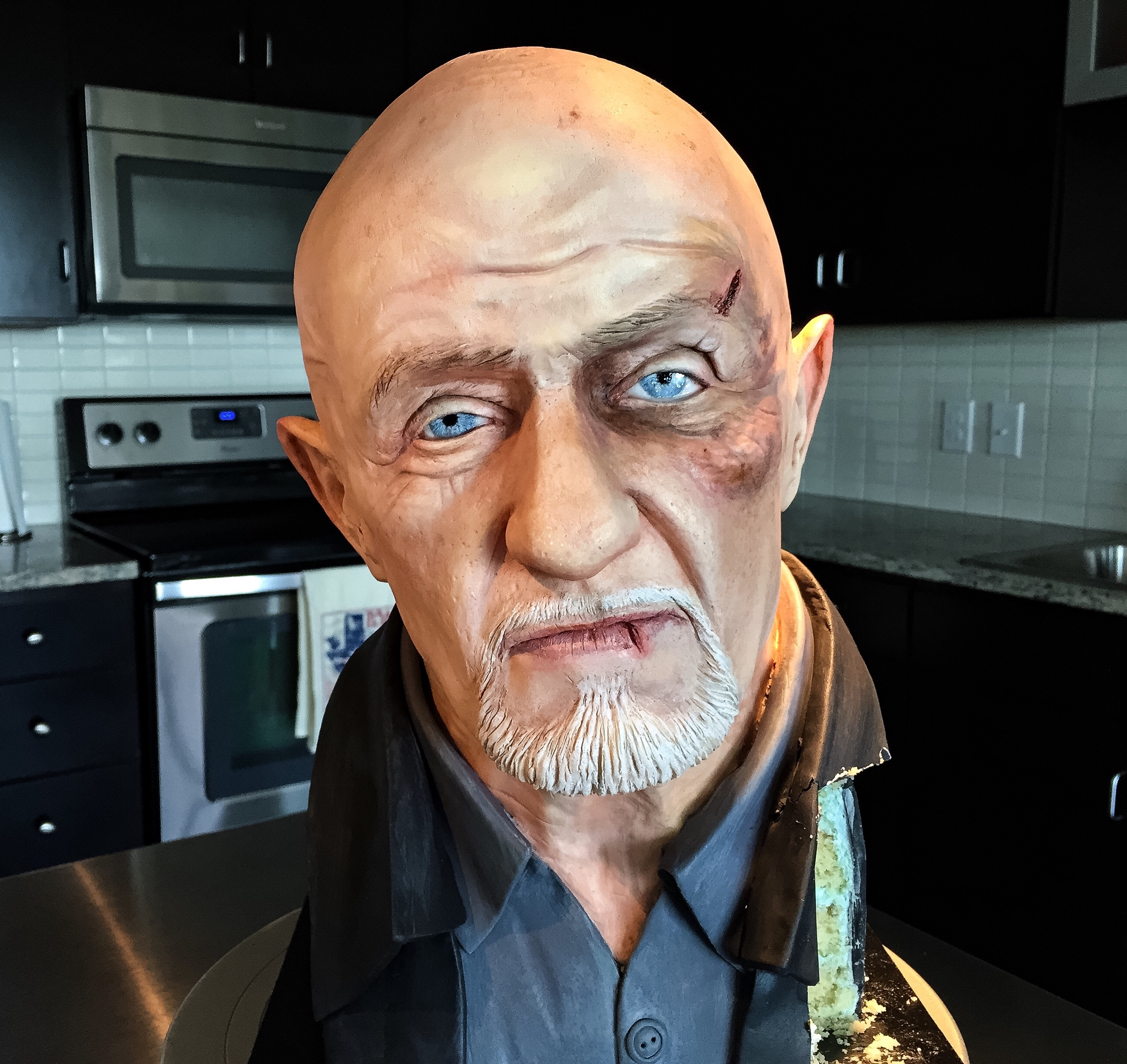 Mike Ehrmantrout of Better Call Saul/Breaking Bad